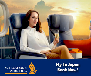 Fly To Japan With Singapore Airlines