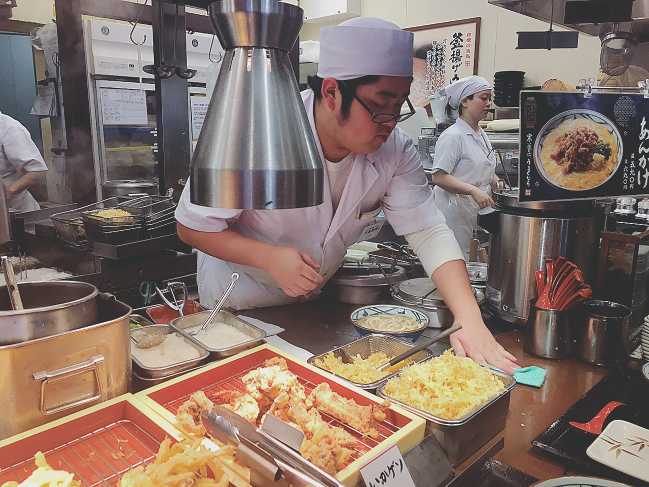 How to order at udon chain restaurant in Japan