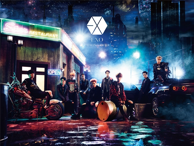 Coming Over : EXO Latest Japanese Album