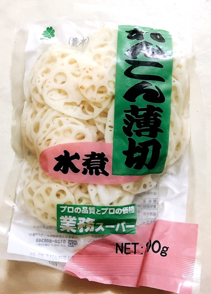 Let's eat Lotus Root (Renkon)