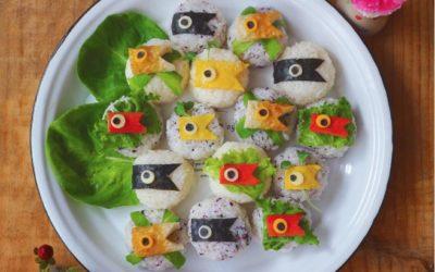 Koinobori Inspired Child Meals